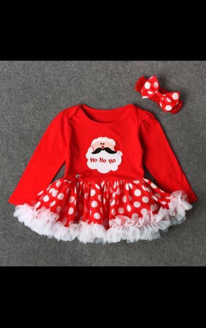 Продам новый комплект новогоднего платья боди, для самых маленьких, на рост примерно до 74см, есть доставка