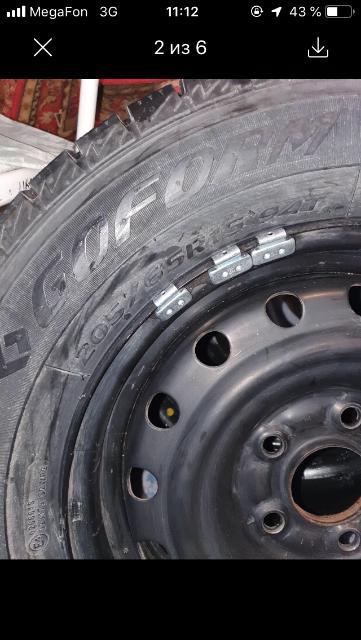 продаю новые шины на штамповках 205/65/15 Goform  накаченые,отбалансированые,без торга
