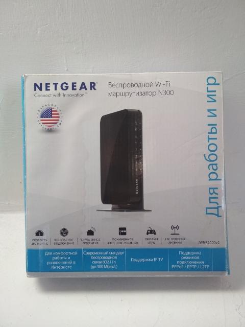 Продаю беспроводной wi-fi маршрутизатор NETGEAR N300. Полный комплект в коробке. Писать в ватсап