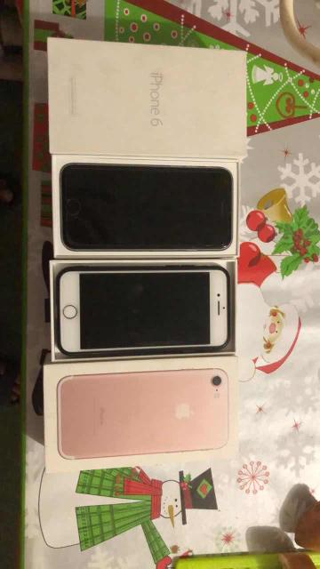 Обменяю два айфон на 8+ или выше Айфон7 розовый 32 гб 16500 полный комплект все работает и айфон 6 16 гб 8500 полный комплект все работает коробки имеются варианты ватсап