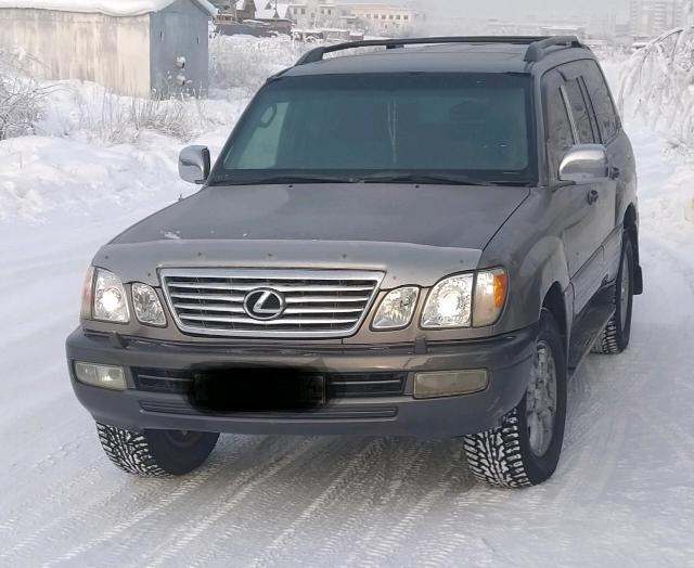 Продам Lexus LX 470, 2000 г.в., в отличном техническом состоянии, ГБО, фаркоп (изменения вписаны в ПТС), камера заднего вида, сонары, гидроподвеска в отличном состоянии, резина шипы хакка, масла заменены, срочных вложений не требует, я собственник. 89142729277