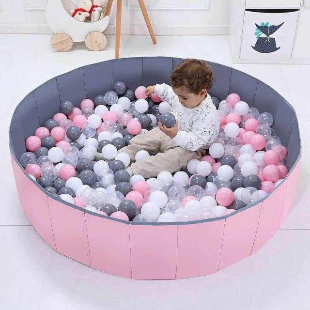 300 шариков в комплекте👶🏻👍🏼 диаметром 7см  ❗️складной, безопасный ❗️устойчивый, удобный ❗️размер 120см*30см Цвет - синий 💙