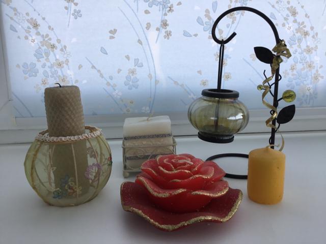 Оригинальные свечи и подсвечники для уюта вашего дома.
