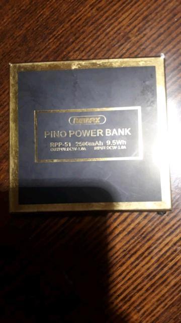 Продам новый в упаковке , маленький окуратненький Power bank на 2500 mAh