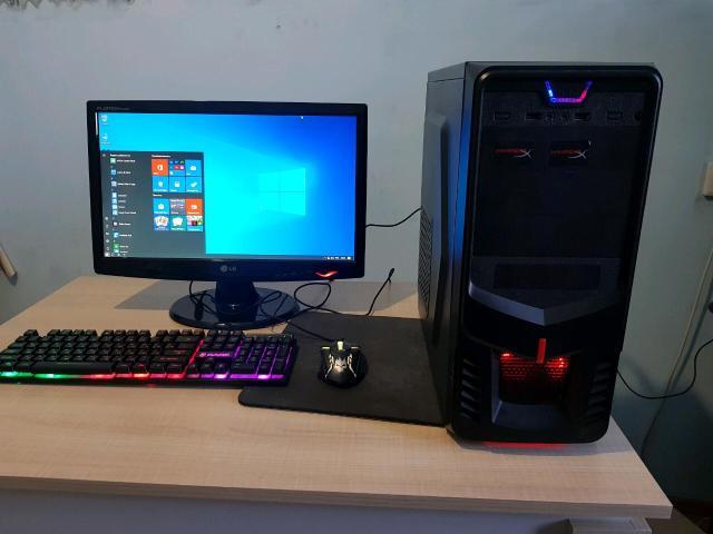 Настольный пк, в хорошем состоянии  Шестиядерный AMD phenom x6 1035t  GTX 760 2gb, ОЗУ 8гб, БП 550вт, SSD 120 Монитор LG 20дюймов hd+, Клавиатура, мышь