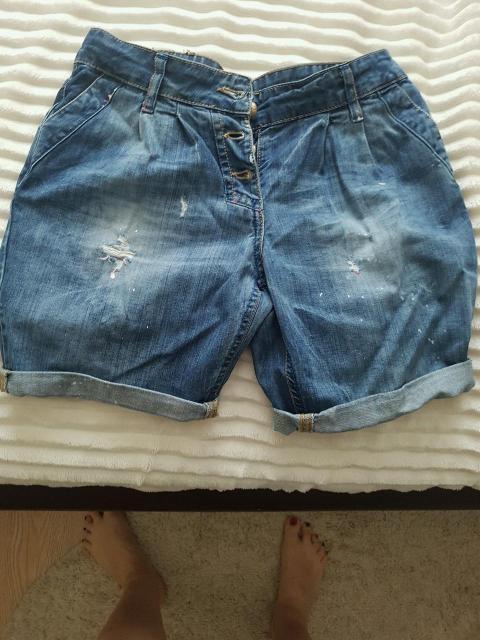 Шорты джинсовые женские р.40