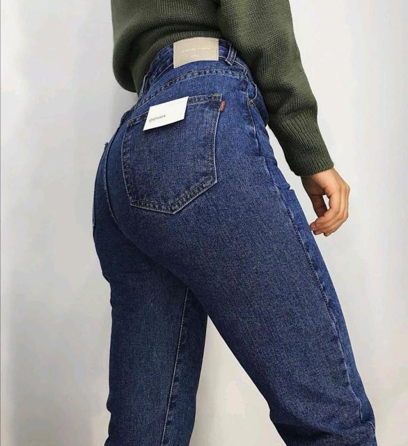 Новые джинсы мом с идеальной посадкой, размер 25 (40)