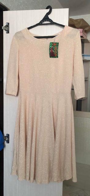 Продаю совершенно новое платье (с бирками) очень красивое,легкое,мерцающее платье🤩размер 44-46. Пишите в ватсап 😉