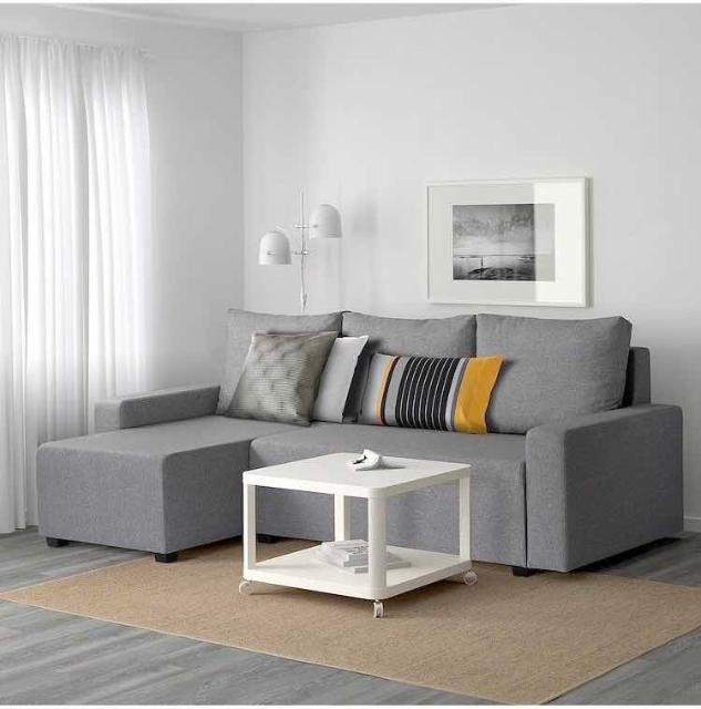 ГИММАРП Диван-кровать с козеткой, Рудорна светло-серый.  Продаю новый( в упаковке) диван  от ИКЕА с доставкой до вашего дома. Только WhatsApp