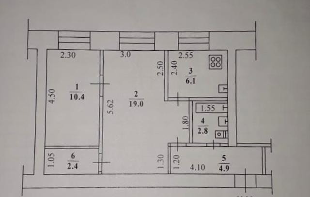 Продаётся квартира отличной планировки в районе апельсина . 1 этаж, очень удобно под бизнес.