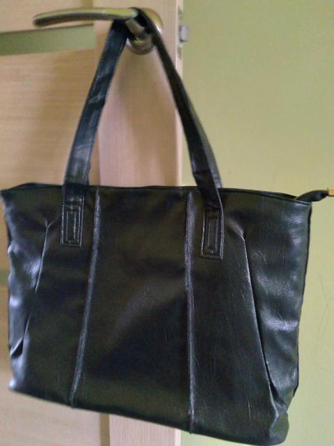 Летняя сумка из искуственной кожи