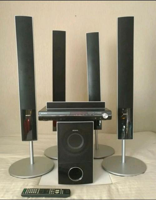 Театр с напольной акустикой Sony DAV-DZ850M(компл)