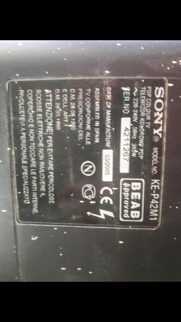 телевизот с горгом работает нормально все работает нет пульта можно без него все настроить 41 дюйм