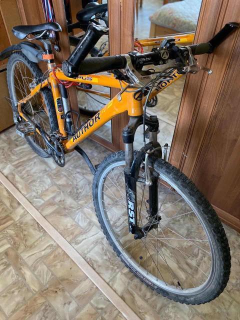 Продаю горный велосипед AUTHOR, в хорошем состоянии.