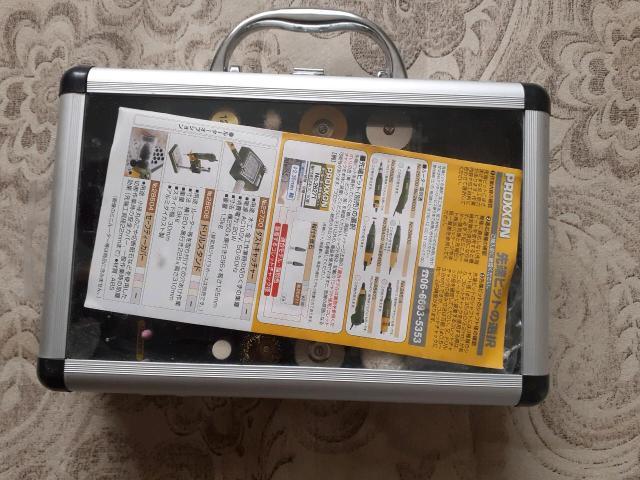 Продаю от японской бор-машинки(proxxon)насадки. Ни разу не пользовался, т.к. сама машинка сгорела. С машинкой покупал за 7тр.