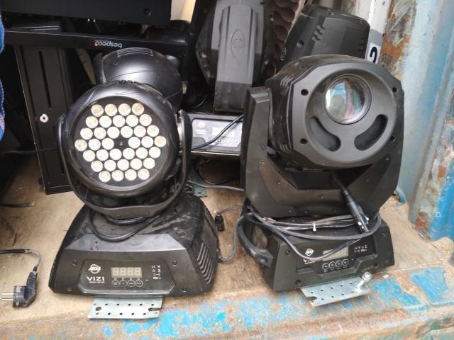 Продам б/у Прожектор полного движения American DJ VIZI Wash Led - 4 шт - 20 000 руб/шт; Голова American DJ VIZI Led Spot Pro - 4 шт - 30 000 руб/шт;