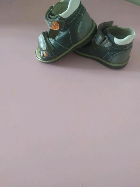 Детские сандали, кожаные со ступинатором, 20 размер