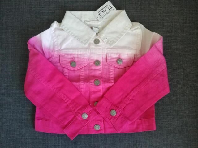 Куртка джинсовая детская 3 года, 100% хлопок, новая