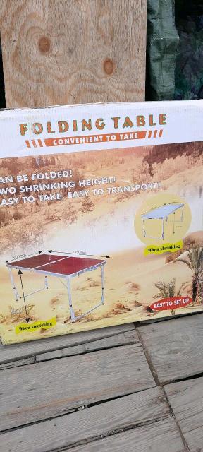Продаю стол походный,складной со стульями. Для отдыха на природе или на дачном участке самое то. Много места не занимает,быстро собирается и разбирается. Есть бесплатная доставка по центру города