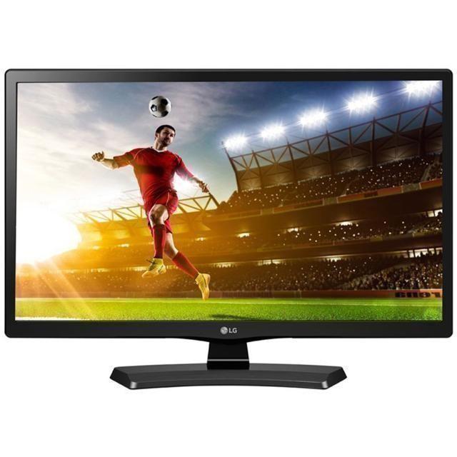 Телевизор LED LG 22MT58VF-PZ, диагональ 22 (56 см), цвет черный, пульт Цена 6000р.