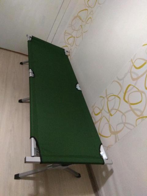 Новые складные раскладушки в чехле для переноски, размер 184*70 см. Каркас алюминий - 2800рб, цвет зелёный! Самовывоз с центра, возможна доставка.