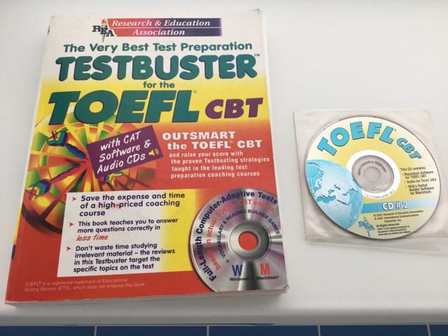 Книга и диск для подготовки к тесту по английскому