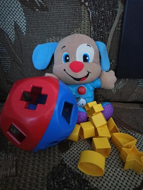 Сортер и муз. игрушка