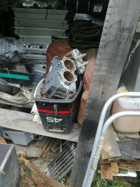 Продаю редуктор лодочного мотора Джонсон 45 (юбилейный) 1995г