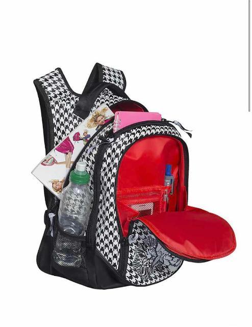 Красивый и стильный школьный рюкзак, очень вместительный, Высота 40 см, 3 отделения, производство Россия, продаю за 1000₽