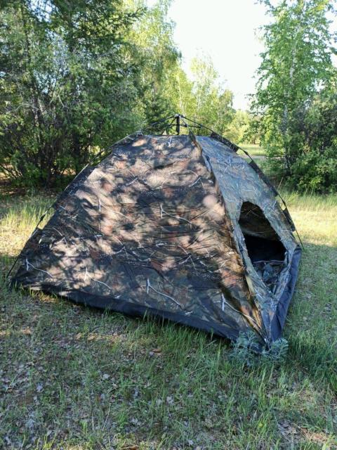 Продам новые палатки   Автомат Фото 1 : 250*250*150 - 3500рб Фото 2:- раскладушки туристические, цвет зелёный и синий - 2800рб!