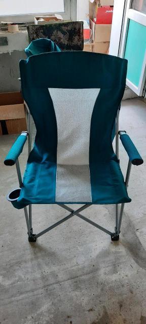 Продаю новые походные складные кресла (стулья) с подстоканником. Максимальная нагрузка 150кг