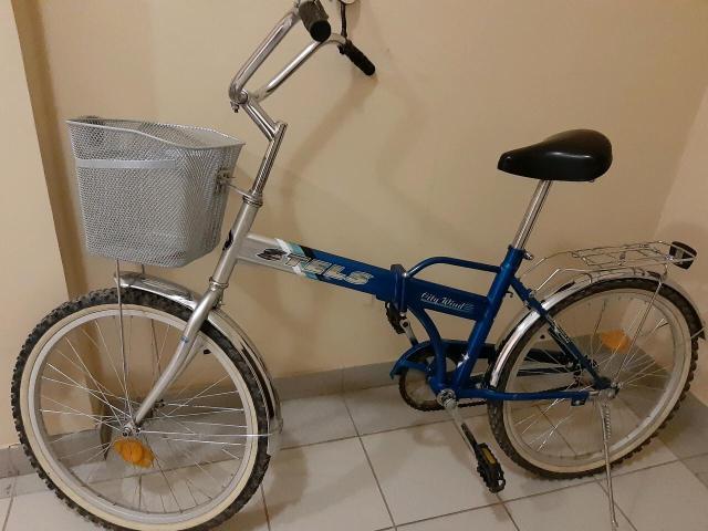 Продаю б/у складной велосипед  для взрослых в хорошем состоянии. Цена 6 тыс.