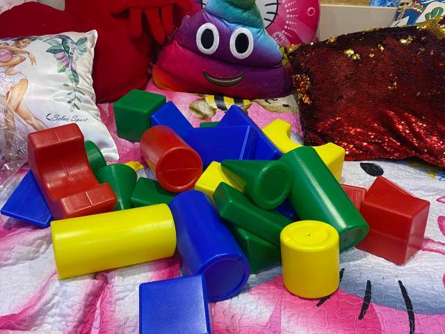 Детские кубики, 25шт