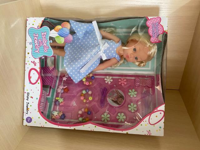 Продаю куклу с аксессуарами, 30 см.