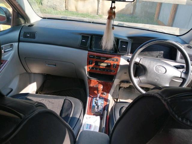 Королла ум 2002 года, комплетация LuxeL. ДВС, АКПП, ходовка хтс, вложения бампера на фото видна, цена 300т.торг 89644286475 ватсап