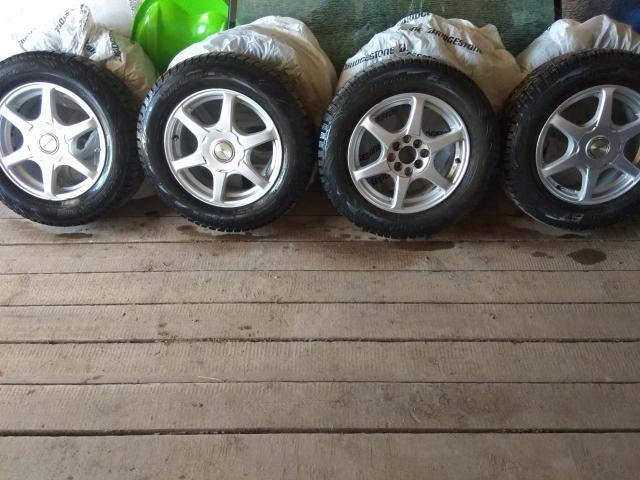 Продаю колеса в сборе резина шипы Cordiant состояние отличное, отбалансированы R15 4/100