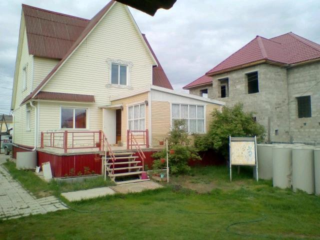 Дом на бетонных сваях с цокольным этажом возможен обмен на небольшую квартиру с доплатой