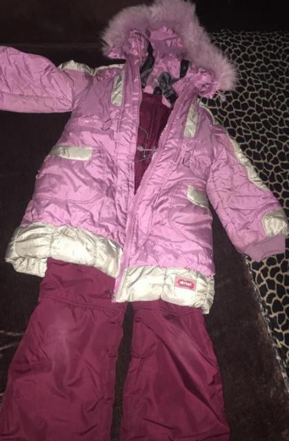 Продаю зимний костюм на девочку 6-10 лет пуховик и штаны. Состояние хорошее, зимой ребенок не замерзал 1200р