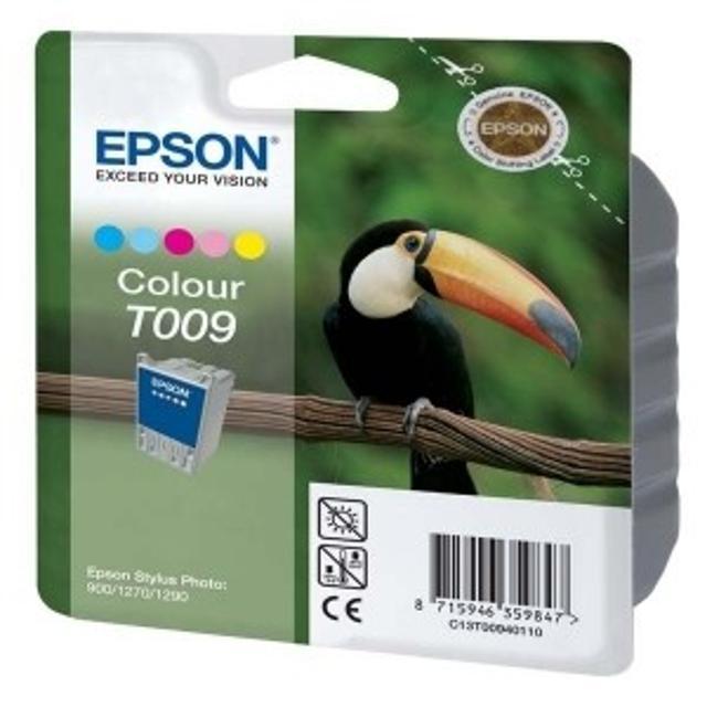 Оригинальные новые картриджи Epson T009 и T007 Подходит для Epson Stylus Photo 900, Epson Stylus Photo 1270, Epson Stylus Photo 1290