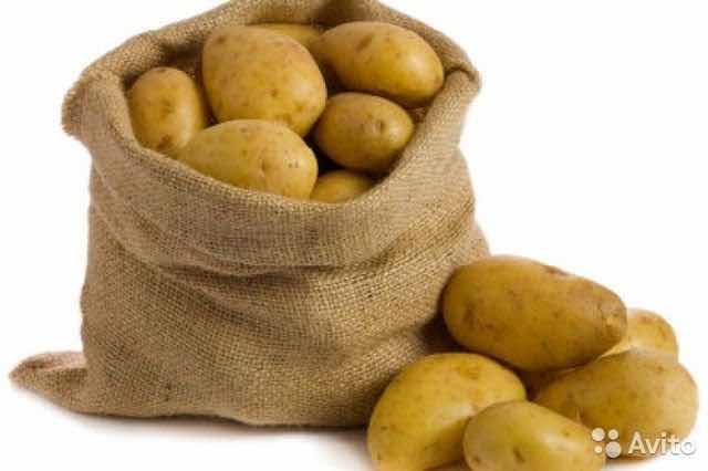 Продаётся картофель 🥔  ОТБОРНЫЙ, ВКУСНЫЙ😋 Мешок- 30кг Цена: 1700₽ Доставка до квартиры 🚗 Обр:89142881532