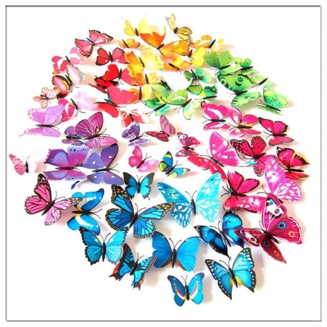 Продаю декор бабочки. В упаковке 12 шт разных размеров. Цена 200 р. Ватсап 89644173517