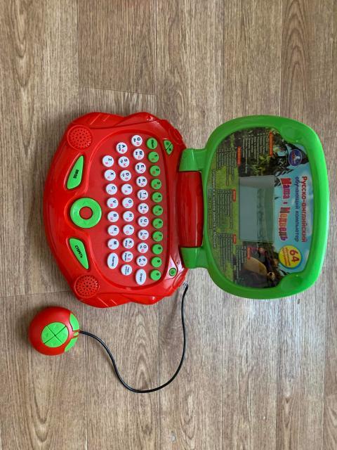 Игрушка компьютер (Маша и медведь)