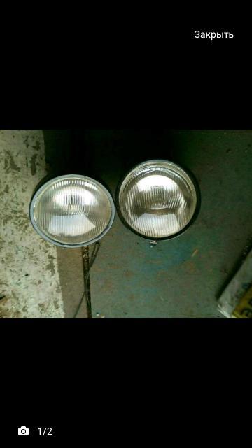 Продаю пару тракторных фар лампочки габарит (не галоген) цена за пару