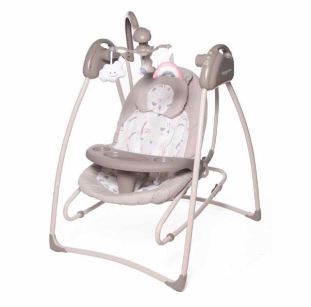 Новые Электрокачели 2 в 1 -  удобные и качественные качели для малышей до 12 месяцев. Спинка регулируется в 3-х положениях, позволяя комфортно отдыхать или спать ,  а когда малыш подрастет весело сидеть и играть. Оснащены всем необходимым функционалом, который только можно придумать: дуга с игрушками, удобный столик, мягкая подушечка, 5 скоростей укачивания, 12 мелодий с таймером, приятные и качественные ткани. Торг