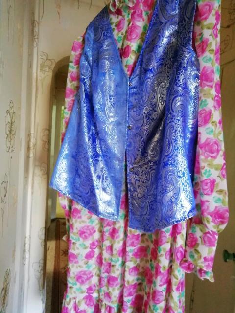 Платье для национального праздника, можно для  тацев