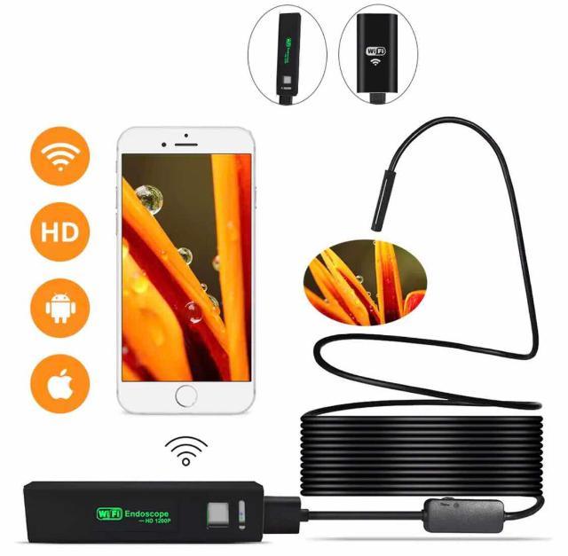 НОВЫЙ ВЫСОКОКАЧЕСТВЕННЫЙ ЭНДОСКОП 3,5 м 👍🏼 -Камера с высоким разрешением -беспроводное соединение Wi-Fi, легко подключается и используется  -размер мини, легкий вес -светодиодная фонари, яркость регулируется  - водонепроницаемая конструкция -совместим с системами iOS/ Android/Windows/Mac -поддержка камеры и видеозаписи телефона
