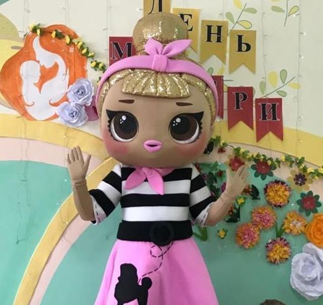 Оказываем услуги аниматоров, Ростовая Кукла Лол украсит ваш праздник своим посещением ).В стоимость входят 2 аниматора. Имеется ПРОКАТ КОСТЮМА, подробности по телефону