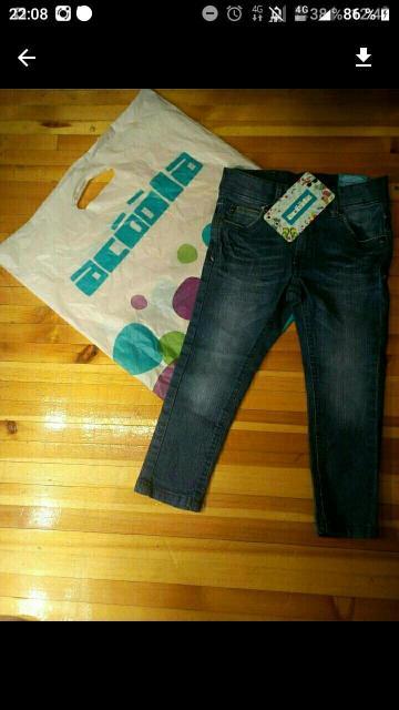 Продаю новые джинсы Acoolakids с этикеткой,98 рост.Цвет синий.