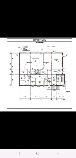 Предлагаем для рассмотрения и приобретения - 3х-этажное каменное здание административного назначения на сваях площадью 1303 кв.м на участке 600 кв.м 2015г.п расположенного по улице Чайковского.  Здание площадью 1303кв.м, внутри сделан свежий, качественный ремонт. На 1 этаже: - Столовая - Тренировочный зал - Санузел (на всех трех этажах отдельные) Все системы центральные (отопительная, водоснабжение и электроснабжение, канализация). Охранная система, видеонаблюдения. Имеется центральный вход и аварийный выход. Внутреннее расположение помещений внутри здания, а также отделка идеально подходят под офисное или учебное учреждение. Здание введено, пройдены все проверки. Участок огорожен, забетонированный площадью 600 кв.м
