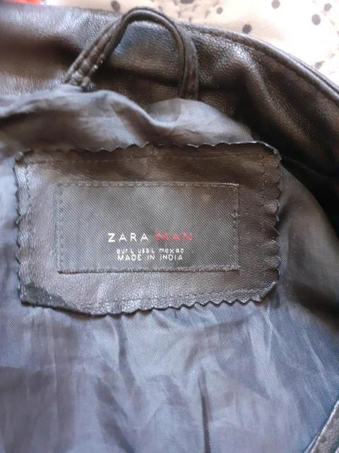 """Срочно продаю натуральную кожаную куртку , фирмы Zara  оригинал , размер """"М"""".  Только  ватсап"""